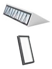 VELUX Modular Skylight System – Northlight Configuration